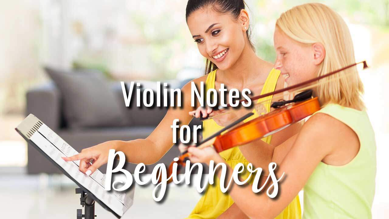 Violin Notes For Beginners - NV