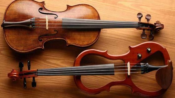 Acoustic and Electric Violins