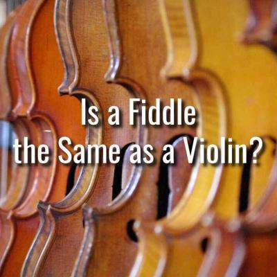 Is a Fiddle the Same as a Violin?