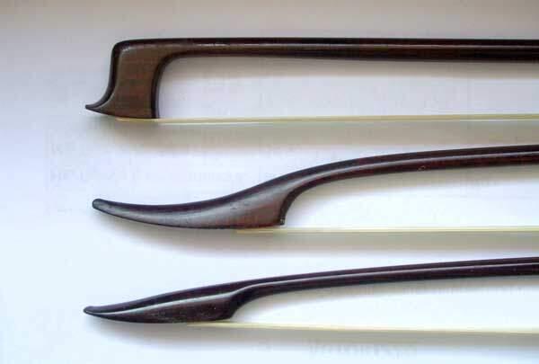 Violin Bow Shapes