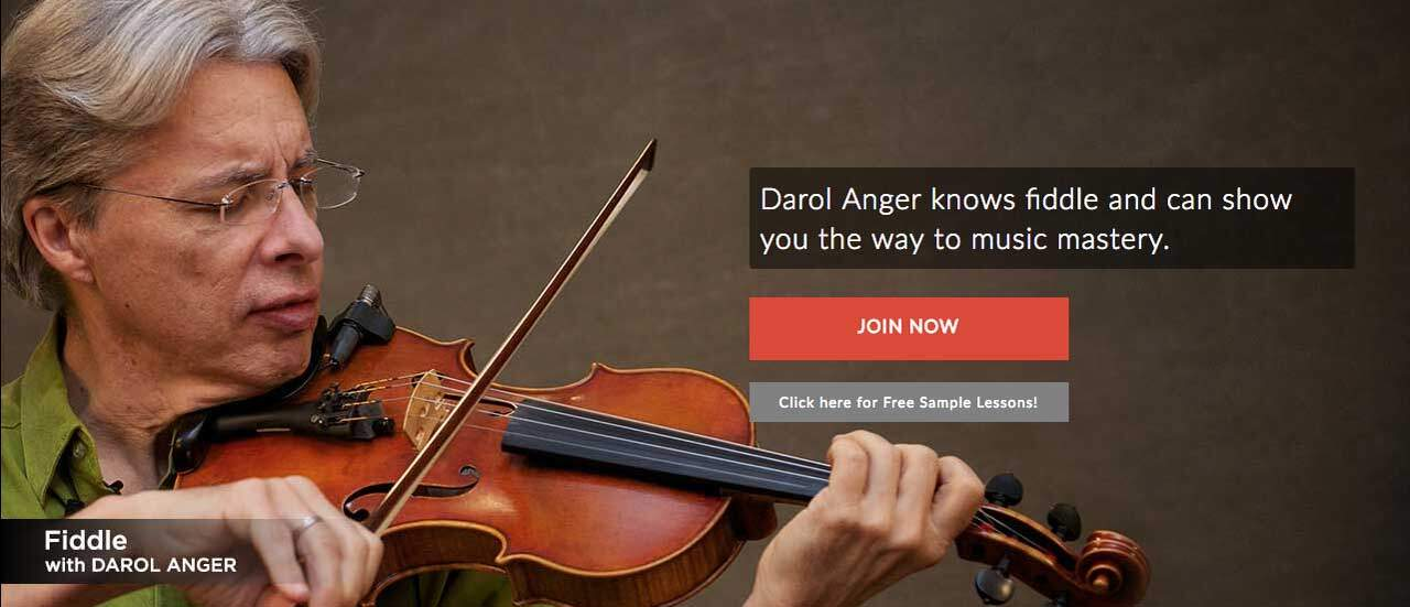 Learn Online with Fiddle Lessons from Darol Anger