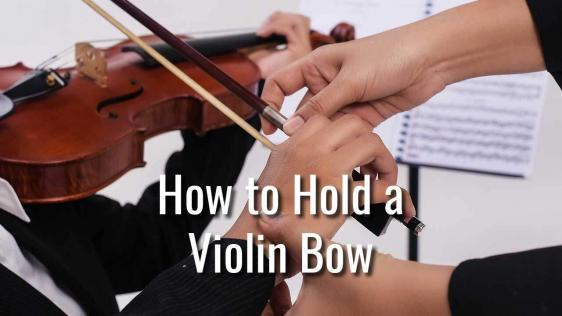 How to Hold a Violin Bow