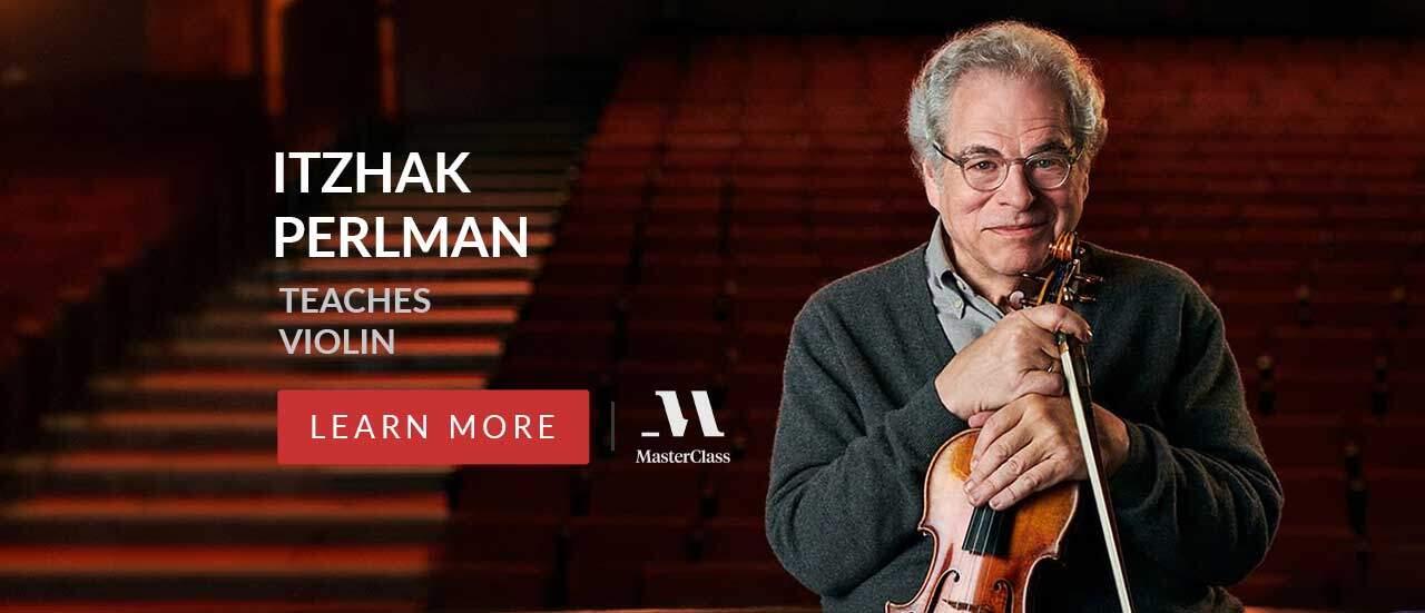 Itzhak Perlman MasterClass Violin Lessons