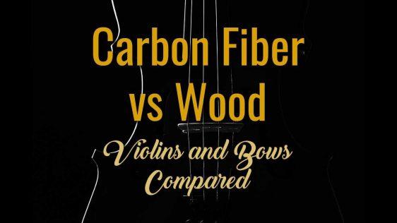 Carbon Fiber vs Wood - Violins and Bows Compared